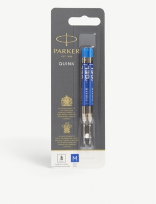 PARKER Quink gel rollerball refills pack of two
