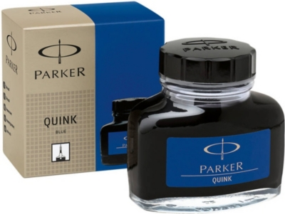 PARKER Quink blue ink bottle 57ml