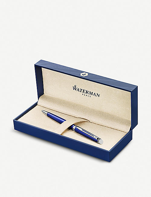 WATERMAN Hemisphere Bright Blue ballpoint pen