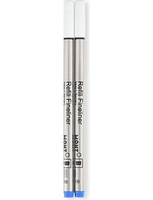 MONTBLANC Fineliner refills pacific blue