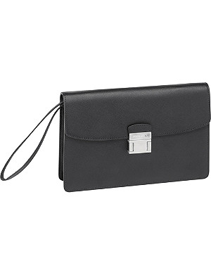 MONTBLANC Sartorial leather pouch