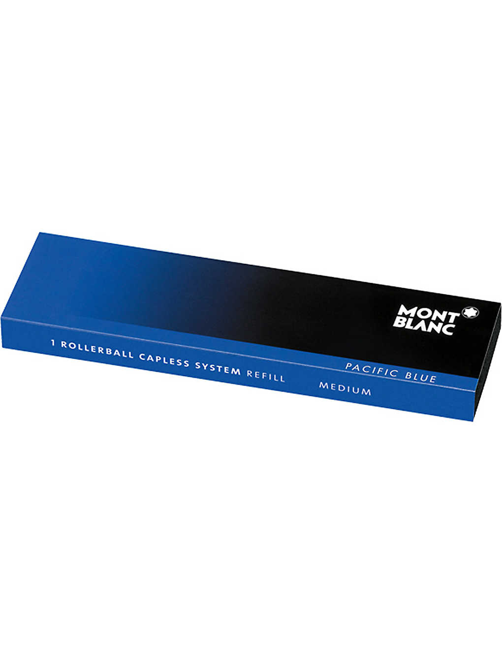 MONTBLANC: Rollerball capless system refill (M) Pacific Blue