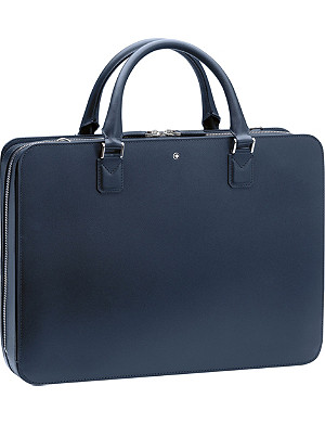 MONTBLANC Slim leather document case