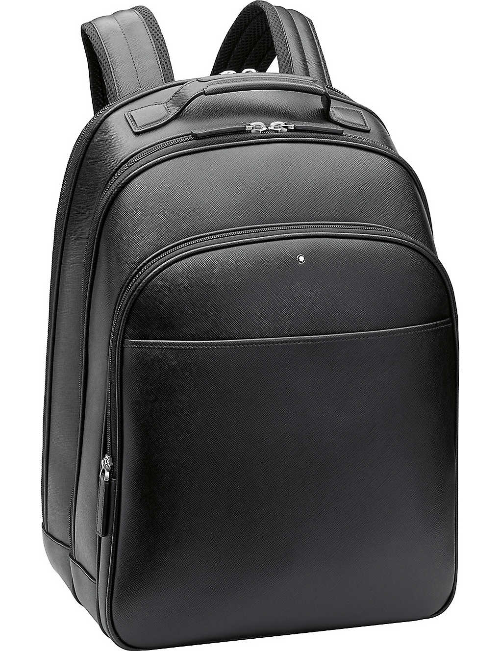 MONTBLANC: Sartorial large leather backpack