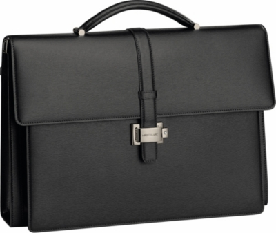 MONTBLANC Westside Double Gusset leather briefcase