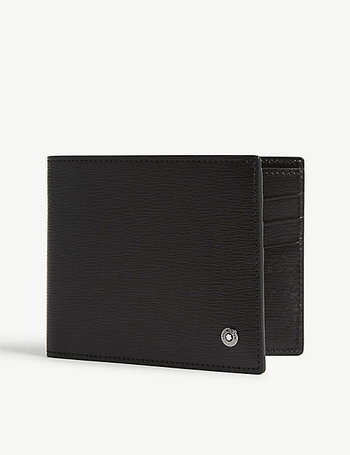 MONTBLANC: 4810 Westside leather 6cc wallet