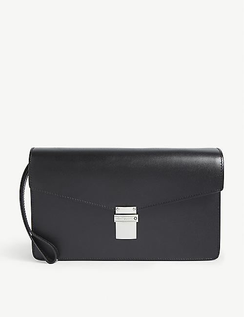MONTBLANC: Leather clutch