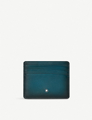 MONTBLANC Six slot leather card holder