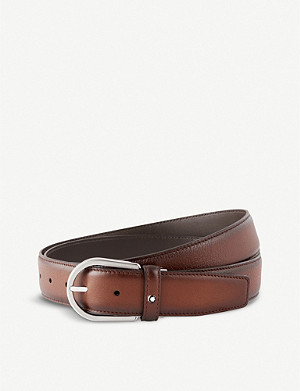 MONTBLANC Leather cut-to-size business belt