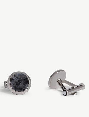 MONTBLANC Sartorial granite-inlay cufflinks