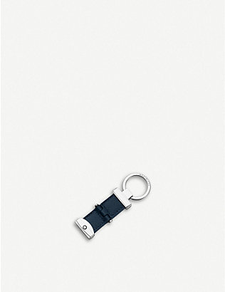 MONTBLANC: Sartorial Pivot leather key fob