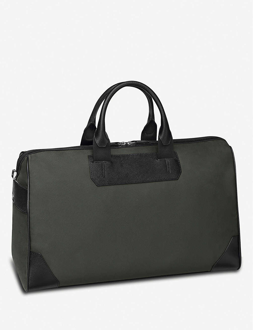 MONTBLANC: Sartorial Jet large nylon and leather duffle bag