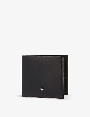 MONTBLANC Meisterstück 4 credit card wallet with coin purse