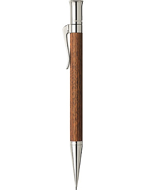 GRAF VON FABER-CASTELL Pernambuco wood platinum-plated pencil