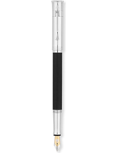 GRAF VON FABER-CASTELL: Ebony fountain pen