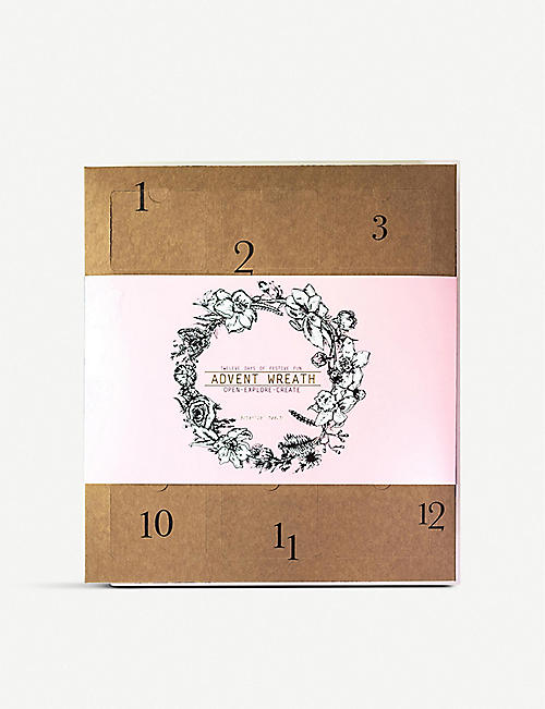 ENCHANTED WREATHS 12-day advent calendar wreath kit