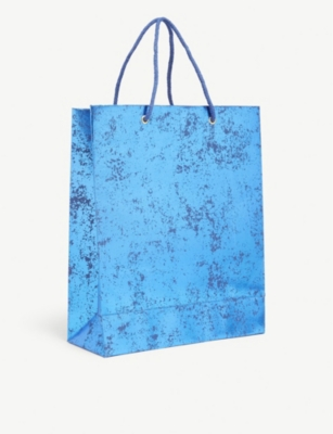 VIVID WRAP Metallic finish gift bag 31cm