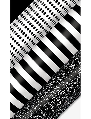 DEVA DESIGNS Striped print wrapping paper 3m