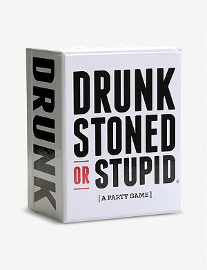 CHRISTMAS Drunk Stoned or Stupid card game