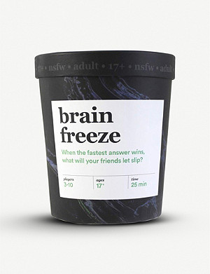CHRISTMAS Brain Freeze card game adult nsfw edition