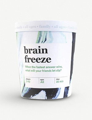 CHRISTMAS Brain Freeze card game family edition