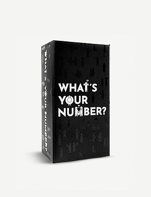 CHRISTMAS What's Your Number card game