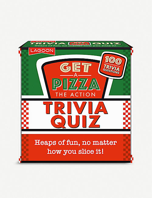 LAGOON Get a Pizza the Action Trivia Quiz