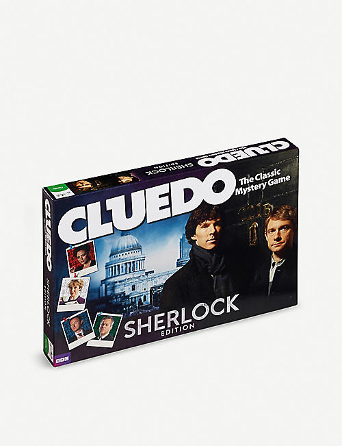 WINNING MOVES Sherlock Cluedo