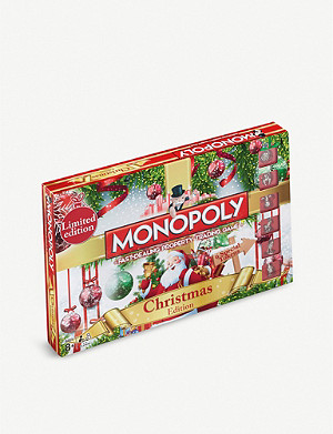 WINNING MOVES Christmas Monopoly