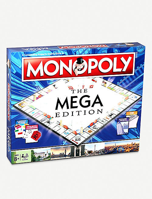 WINNING MOVES Mega Monopoly board game