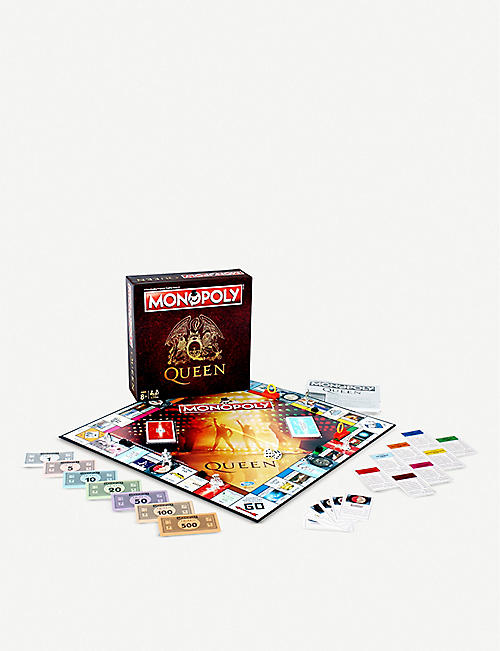 WINNING MOVES Queen Monopoly board game
