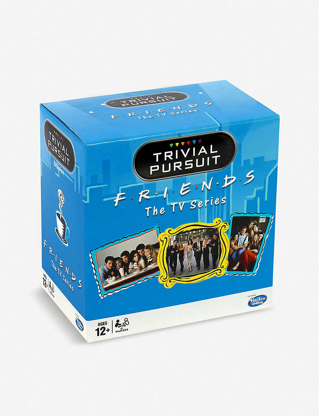 WINNING MOVES: Friends travel Trivial Pursuit