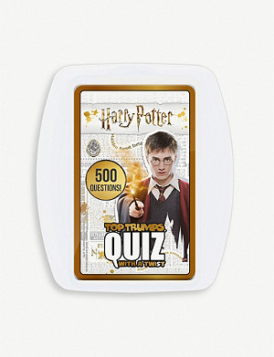 WINNING MOVES Harry Potter Top Trumps