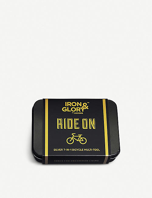LUCKIES OF LONDON Iron & Glory Ride On bicycle repair tool