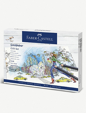FABER CASTELL Goldfaber colour pencil gift set