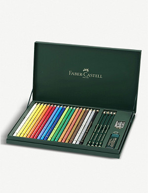 FABER CASTELL Polychromos Artists' Colour Pencil set