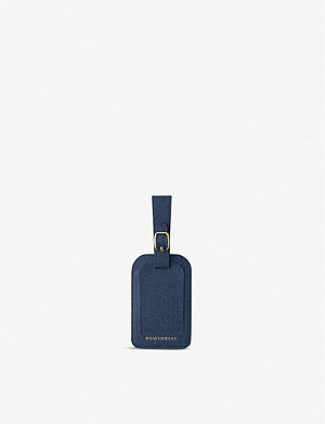 PRINT WORKS Faux-leather luggage tag