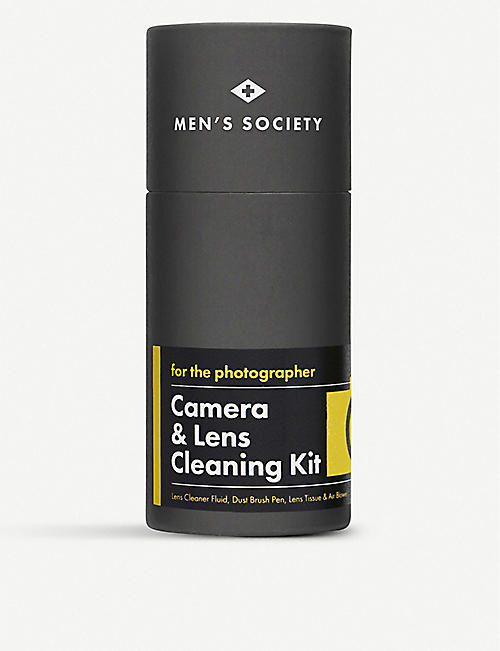 MENS SOCIETY Camera & lens cleaning kit