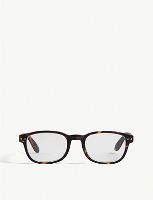 IZIPIZI #B Reading square-frame glasses +1.5