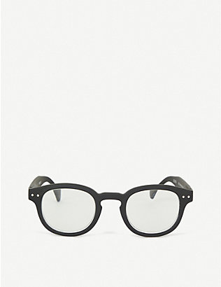 IZIPIZI: Letmesee #C oval-shaped reading glasses +3