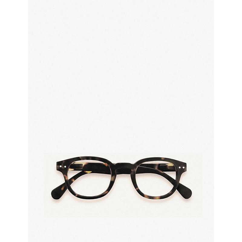 Letmesee #C square-frame glasses +3.00