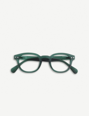 IZIPIZI Letmesee #C acetate reading glasses +2.00