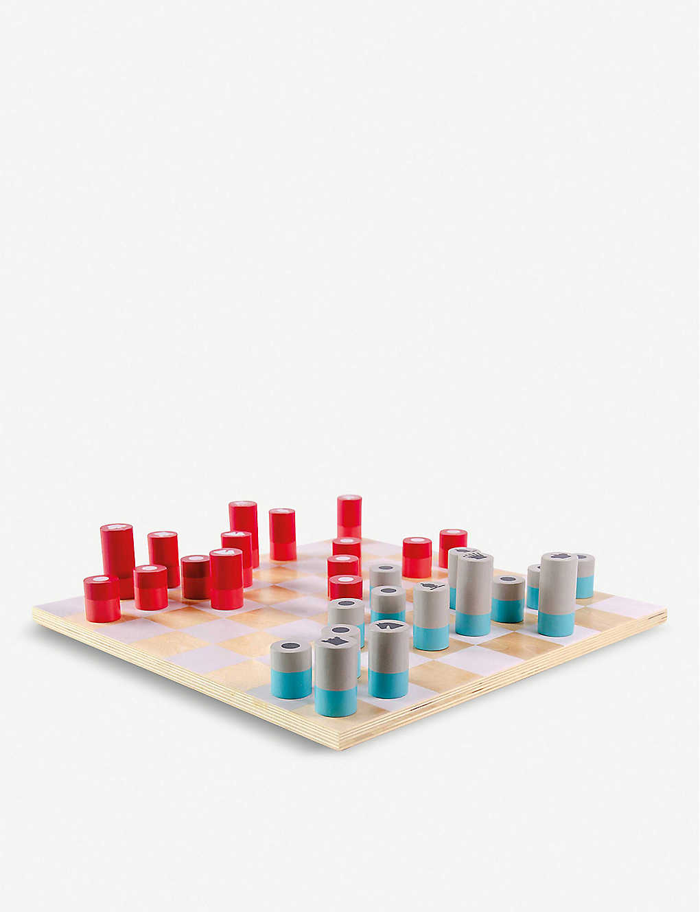 CHRISTMAS: Wooden chess set