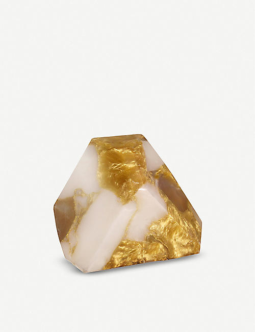 SOAPROCKS Gold in Quartz soap bar