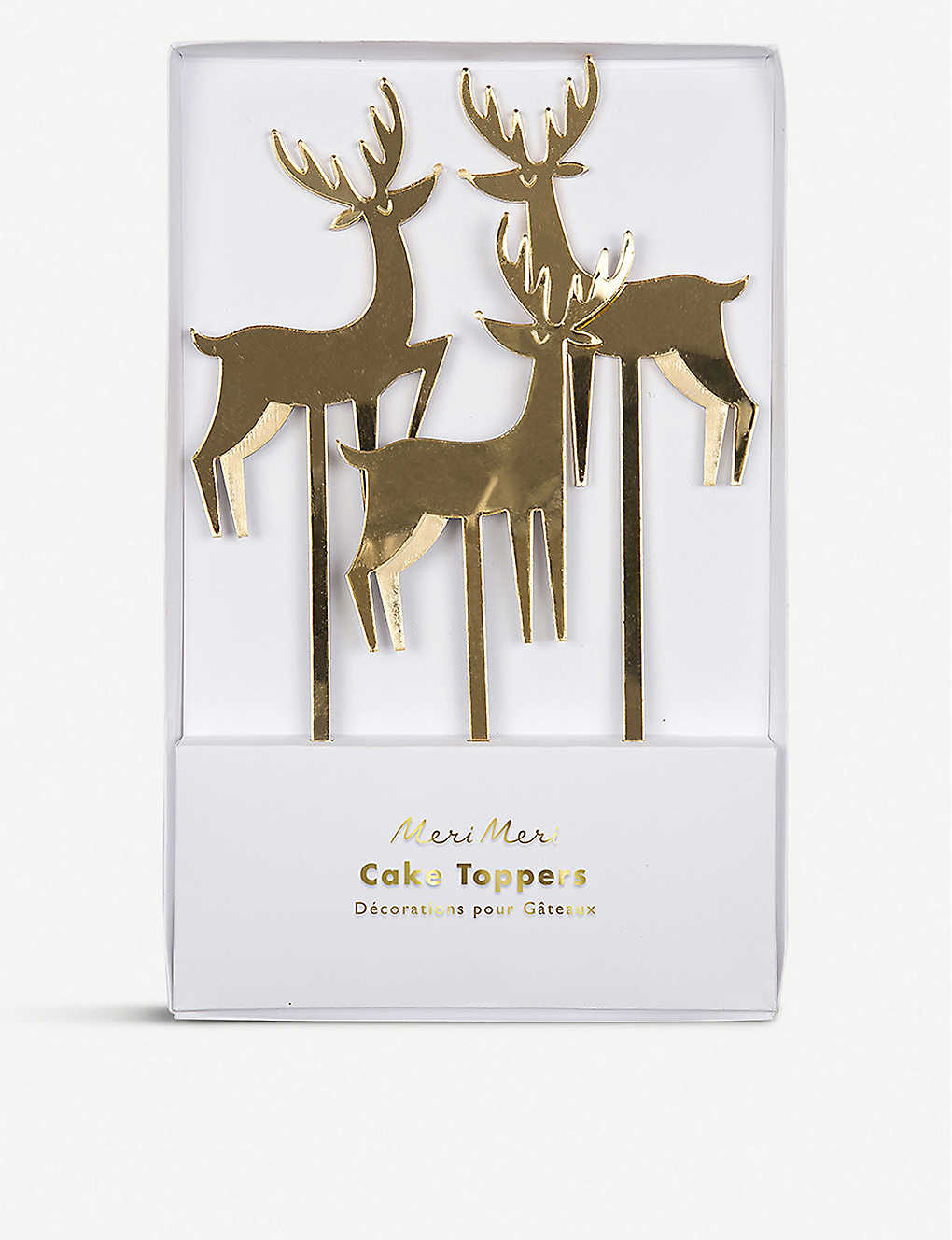 MERI MERI: Reindeer cake toppers set of 8