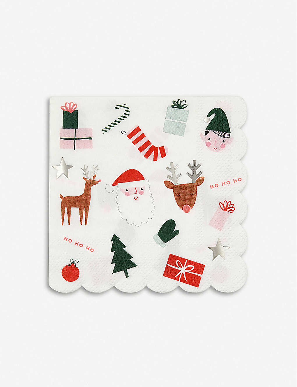 MERI MERI: Christmas Fun napkins pack of 16