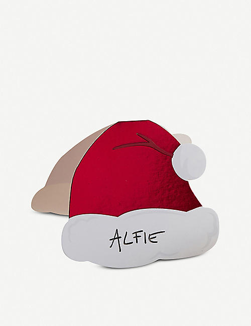 GINGER RAY Santa hat place cards pack of 10