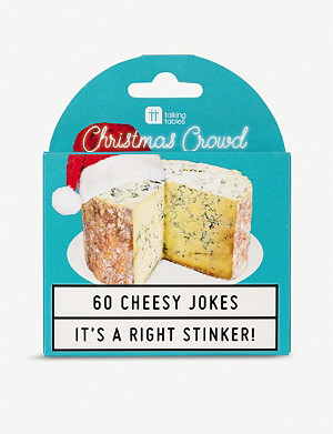 TALKING TABLES Christmas Cheesy Jokes card game