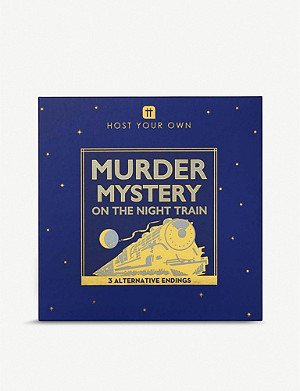 TALKING TABLES Murder Mystery game