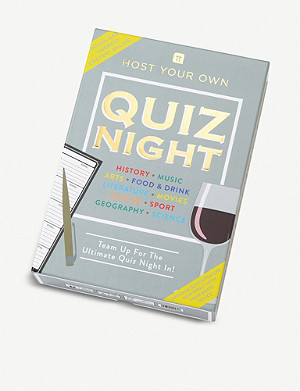 TALKING TABLES Host your own quiz night game